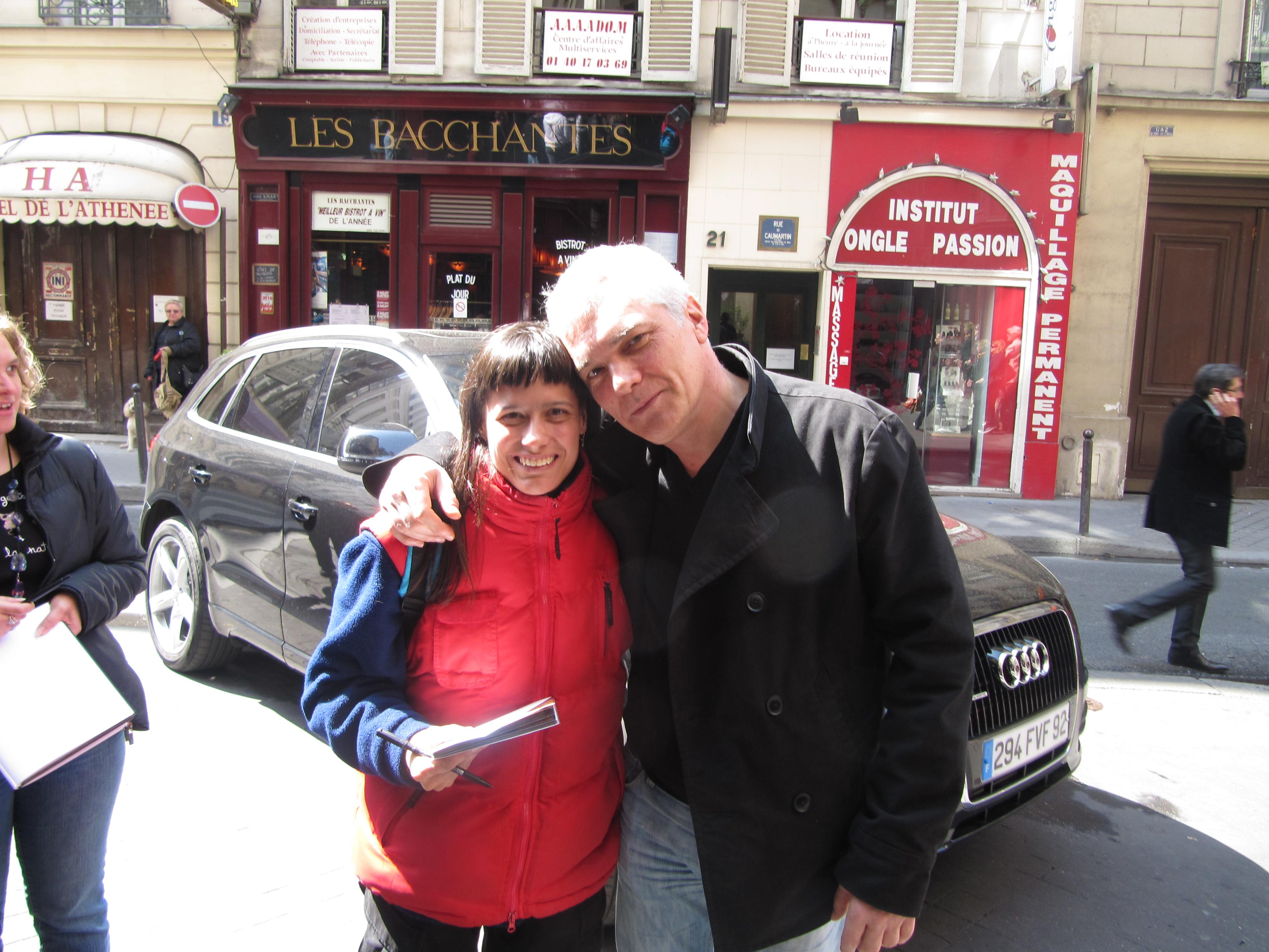 Rémy (Les Musclés) et moi